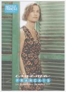Isabelle Huppert Dans Villa Amalia, Affichette, Festival Cinéma Français Rome - Manifesti & Poster