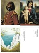 0809m: 9 AKs Gemälde/ Kunst Aus Dem Museum Der Bildenden Künste Zu Leipzig, Ungelaufen - Museen