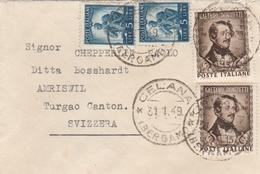 Italien,kleines Couvert CELANA 1949 - 1946-.. République