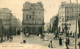 """CPA """"brest Place Des Portes - Brest"""