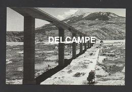 DF / 05 HAUTES ALPES / SERRE-PONÇON / REMPLISSAGE DU LAC ARTIFICIEL DU BARRAGE AU 3 MAI 1961 / LE PONT - France