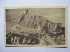 HAUTE SAVOIE  74      CHAMONIX    -  TRAIN          ANIME      TTB - Chamonix-Mont-Blanc