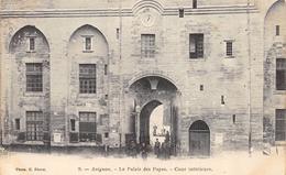 CPA 84 AVIGNON LE PALAIS DES PAPES COUR INTERIEURE Dos Simple - Avignon