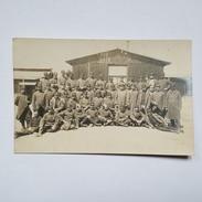 Allemagne - Quedlinburg - Groupe De Soldats Dans Un Camp - Prufungsstelle Des Garnisonkommandos - Gepruft - Carte Photo - Quedlinburg
