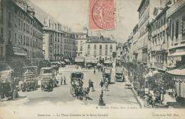 38  GRENOBLE  / La Place Grenette Et Le Saint-Eynard / - Grenoble