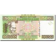 Guinea, 500 Francs, 2006-2007, 2006, KM:39a, NEUF - Guinea-Bissau