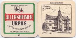 #D138-183 Viltje Brauerei Allersheim 90 Mm X 90 Mm - Sous-bocks