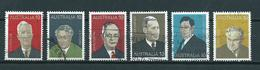 1975 Australia Complete Set Ministers Used/gebruikt/oblitere - 1966-79 Elizabeth II