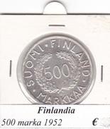 FINLANDIA   500 MARKKAA  1952  COME DA FOTO - Finlandia