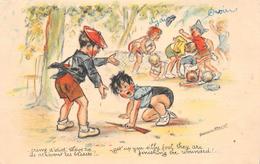 """¤¤   -   Illustrateur  """" Germaine BOURET """"   -  Bagarre D'Enfants   -  ¤¤ - Bouret, Germaine"""