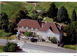 """Gluges - Martel : Hotel Restaurant Santurette """"A La Bonne Friture"""" (aérienne Intercolor Vierge) - Other Municipalities"""