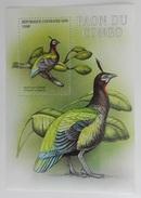 Central Africa 2001** Bl.654. Congo Peacock MNH [6;83]