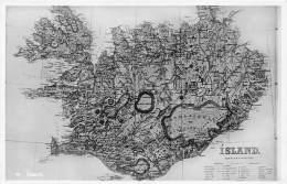ISLANDE / Map - Beau Cliché