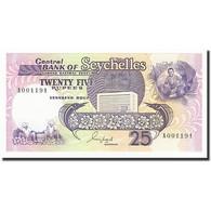 Seychelles, 25 Rupees, Undated (1989), KM:33, NEUF - Seychelles