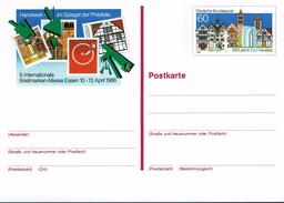 Deutschland 1986 - Postkarte - Essen (Markenbild: Bad Hersfeld) - BRD