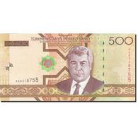 Turkmanistan, 500 Manat, 2005, 2005, KM:19, NEUF - Turkménistan