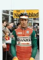 Dietrich THURAU, 1986 .  Cyclisme. Lire Descriptif. 2 Scans. Supermercati Brianzoli - Ciclismo