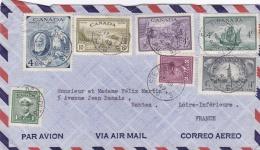 CANADA  : Divers Sur Lettre Pour La France CaD De Sainte-Anne-des-Monts Du 17 09 1949