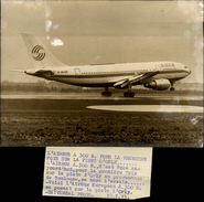 PHOTO - Photo De Presse - Aéroports - ORLY - Airbus A 300 - 1973 - Aviation