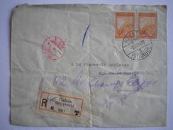TURQUIE - Lettre Recommandée Pour La France De 1933 - 1921-... Republic