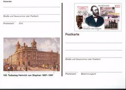 Deutschland 1997 - Postkarte - Heinrich Von Stephan - Philatelie & Münzen