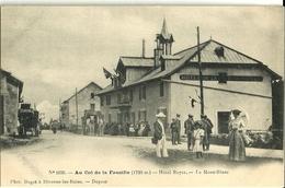 Au Col De La Faucille Hotel Royer Le Mont Blanc - France