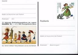 Deutschland 1994 - Postkarte - Najubria Mainz - Briefmarkenausstellungen