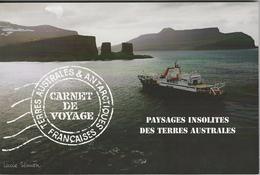"""TAAF-Carnet De Voyage """"Paysages Insolites Des Terres Australes"""". Carnet Prestige.. - Nuovi"""
