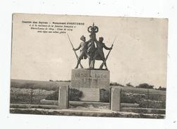 Cp , Militaria , Monuments Aux Morts , Chemin Des Dames , Monument D'HURTEBISE , écrite - Monuments Aux Morts
