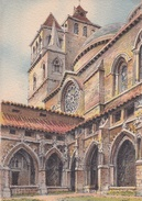 CPSM De Barday -  CAHORS (46)  La Cathédrale Et Le Cloître Du XVI° S.  -  Barré & Dayez  N°  2126  B  //    TBE - Barday