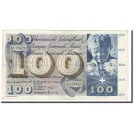 Suisse, 100 Franken, KM:49a, 1956-10-25, TB+ - Suiza