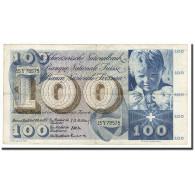 Suisse, 100 Franken, KM:49b, 1957-10-04, TB - Suiza