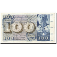 Suisse, 100 Franken, KM:49b, 1957-10-04, TTB - Suiza
