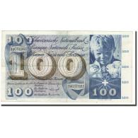Suisse, 100 Franken, 1963-03-28, KM:49e, TTB - Suiza