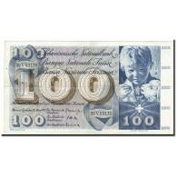 Suisse, 100 Franken, KM:49e, 1963-03-28, TB+ - Suiza