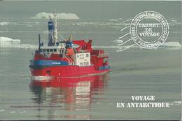 """Carnet De Voyage """"Voyage En Antarctique"""". Carnet Prestige.. - Ongebruikt"""