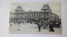 Cpa Bruxelles La Gare 🚉 - Transport Urbain Souterrain