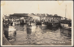 POS-663 CUBA POSTCARD. CIRCA 1940. GUANTANAMO. VISTA PUERTO DE CAIMANERA. - Cuba