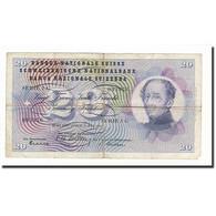 Suisse, 20 Franken, KM:46a, 1954-07-01, B - Suiza