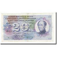 Suisse, 20 Franken, KM:46e, 1957-10-04, TB - Suiza