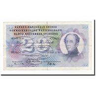 Suisse, 20 Franken, KM:46d, 1956-07-05, B - Suiza