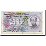 Suisse, 20 Franken, KM:46c, 1955-10-20, B - Suiza