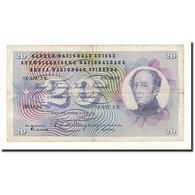 Suisse, 20 Franken, KM:46a, 1954-07-01, B+ - Suiza