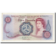 Isle Of Man, 5 Pounds, Undated (1972), KM:30b, SUP - 5 Pond