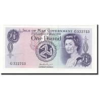 Isle Of Man, 1 Pound, Undated (1972), KM:29e, SUP+ - Eiland Man/ Anglo-Normandische Eilanden