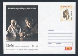 """Romania Romana Rumänien 2005 Partcover / Briefstück - Daily Newspaper """"Gândul"""" / Zeitung / Journal / Krant"""