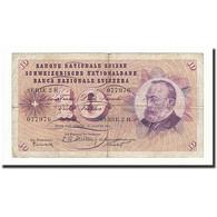 Suisse, 10 Franken, 1955, KM:45a, 1955-08-25, B - Suiza