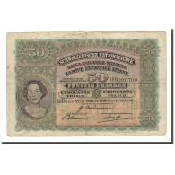 Suisse, 50 Franken, 1941, KM:34l, 1941-12-12, B - Suiza