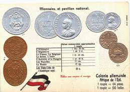 Carte Postale Ancienne De MONNAIES - Coins (pictures)