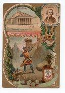 BRUXELLES  RICHARD COEUR DE LION  A GRETRY  LA BELLE JARDINIERE  C BERIOT LILLE  CHROMO  TRES BELLE ILLUSTRATION - Altri